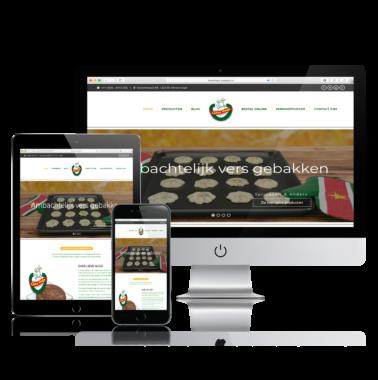 Portfolio Wordpress Lieve Hugo Bakkerij