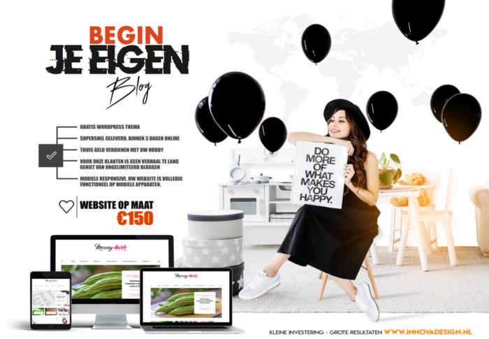 Start je eigen blog